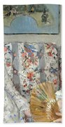 Morisot's The Sisters Beach Towel