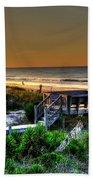 Morning Beach Beach Towel