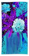 Morning Callas And Orchids  Beach Towel