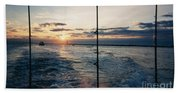 Morning Fishing Beach Towel