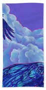 Morning Flight Beach Towel