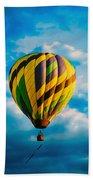 Morning Flight Hot Air Balloons Beach Towel