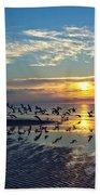 Morning Flight Beach Towel