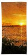 Morning Light - Florida Sunrise Beach Towel