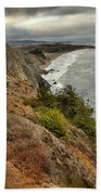 Morning Pacific Storm Clouds Beach Towel