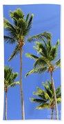Morning Palms Beach Towel