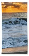 Morning Rays Square Beach Towel by Bill Wakeley