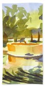 Morning Ripples At Ste. Marie Du Lac Pond Beach Towel