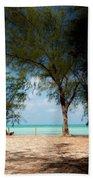 Morning Shadows Beach Towel