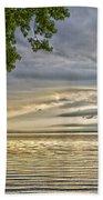 Morning Storm Beach Towel