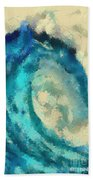 Morning Wave Beach Towel