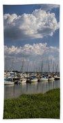 Morningstar Marina Boat Harbor Georgia Beach Towel