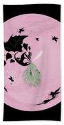 Morphed Art Globe 10 Beach Towel by Rhonda Barrett