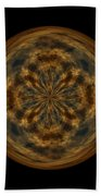 Morphed Art Globe 29 Beach Towel