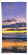 Morro Bay Panorama Beach Towel