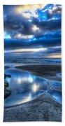 Morro Strand Reflections Beach Towel
