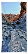 Mosaic Canyon In Death Valley Beach Towel