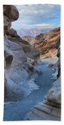 Mosaic Canyon Twilight Beach Towel