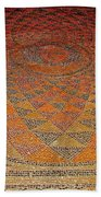 Mosaic Floor In Bergama Museum-turkey Beach Towel