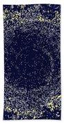Mosaic Galaxy Midnight Blue Beach Towel