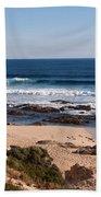 Moses Rock Beach 01 Beach Towel
