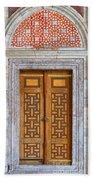 Mosque Doors 05 Beach Towel