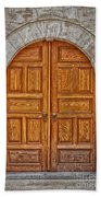 Mosque Doors 06 Beach Towel