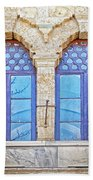 Mosque Windows 3 Beach Towel