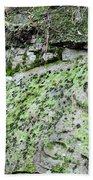 Moss Rock Beach Towel