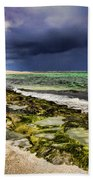 Moss Rocks Beach Towel
