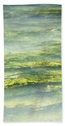 Mossy Tranquility Beach Towel