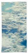 Mostly Cloudy Beach Towel