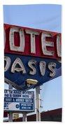 Motel Oasis Beach Towel
