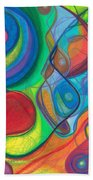 Mother Earth - Plant Healing - Gaia - Heart Chamber Awakening Beach Towel