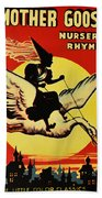 Mother Goose Beach Towel by Bill Cannon