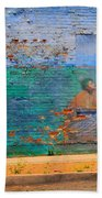 City Mural - Mother Mary Beach Towel