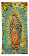 Mother Mary  Beach Towel