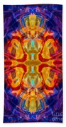 Mother Of Eternity Abstract Living Artwork Beach Towel