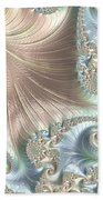 Mother Of Pearl - A Fractal Abstract Beach Towel