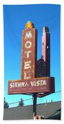 Mother Road Motel Beach Towel