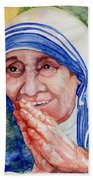 Mother Teresa Beach Sheet