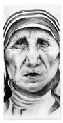 Mother Teresa Beach Towel