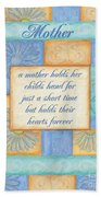 Mother's Day Spa Card Beach Sheet
