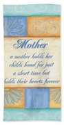 Mother's Day Spa Beach Towel by Debbie DeWitt