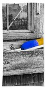 Motif Number One Sunrise Reflections Bw Beach Towel