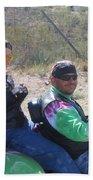 Motorcyclists Helldorado Days Parade Tombstone Arizona 2004 Beach Towel