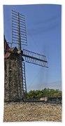 Moulin De Daudet Fontvieille France Dsc01833 Beach Towel