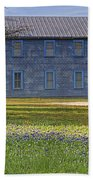 Mount Horeb Masonic Lodge 137 With Bluebonnets Beach Towel