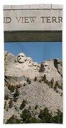 Mount Rushmore 3 Beach Towel