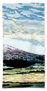 Mount Shasta California Beach Towel